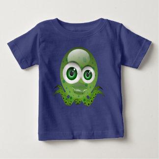小さいタコ ベビーTシャツ