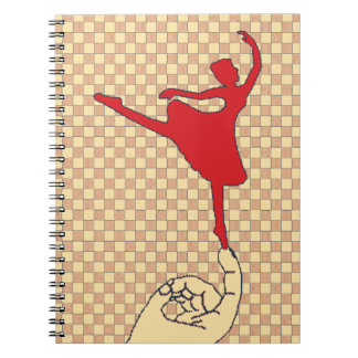 小さいダンサー ノートブック