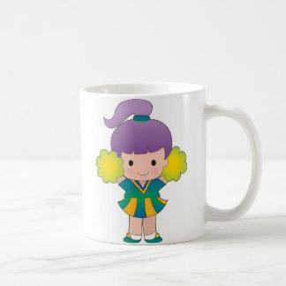 小さいチアリーダー コーヒーマグカップ