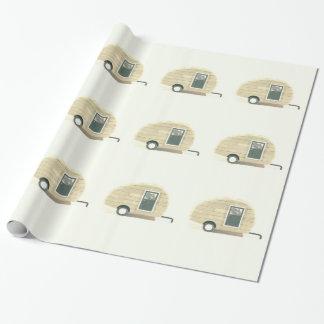 小さいトレーラーのジプシーのキャラバン ラッピングペーパー
