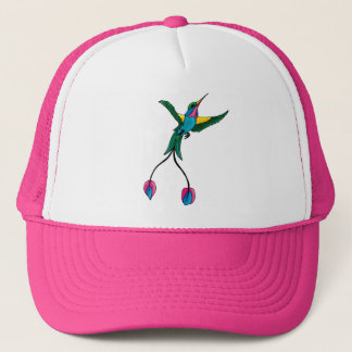 小さいハチドリ-帽子 キャップ