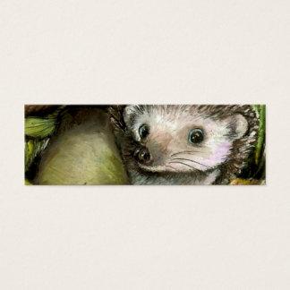 小さいハリネズミのしおり(20パック) スキニー名刺