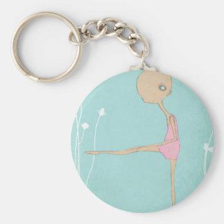 小さいバレリーナのダンサー キーホルダー