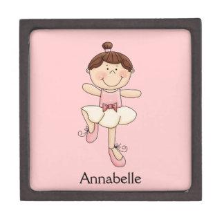 小さいバレリーナ女の子かライトは外観個人化なります ギフトボックス