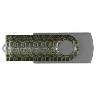 小さいパターン森林迷彩柄のカムフラージュ USBフラッシュドライブ