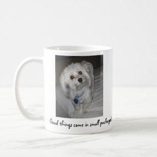小さいパッケージ入って来よい事! コーヒーマグカップ