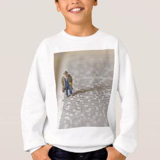 小さいビジネスマン スウェットシャツ