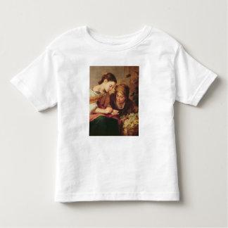 小さいフルーツ販売人の詳細、1670-75年 トドラーTシャツ