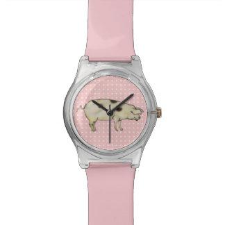 小さいブタ 腕時計