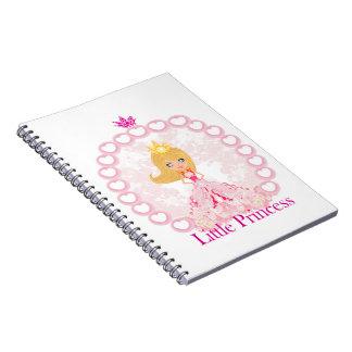 小さいプリンセスのノート ノートブック