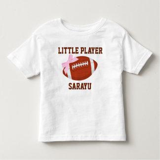 小さいプレーヤーのカスタムな幼児の罰金のジャージーのTシャツ トドラーTシャツ