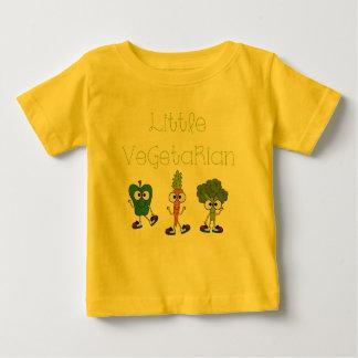 小さいベジタリアン ベビーTシャツ