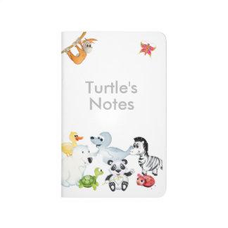 「小さいベビー愛シール」すべてのキャラクターのノート ポケットジャーナル