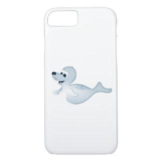 「小さいベビー愛シール」のシールのキャラクターの電話箱 iPhone 8/7ケース