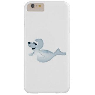 「小さいベビー愛シール」のシールのキャラクターのIphoneの例 Barely There iPhone 6 Plus ケース