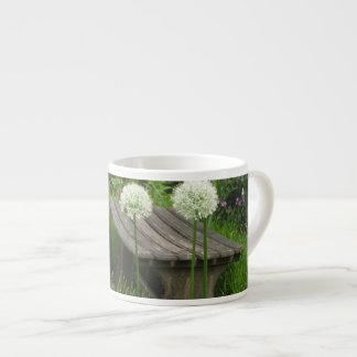 小さいベンチ-陶磁器のエスプレッソのコップ エスプレッソカップ