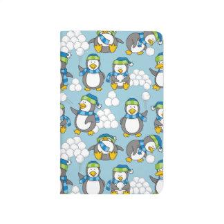小さいペンギンの背景 ポケットジャーナル