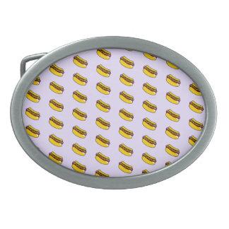 小さいマスタードのホットドッグの楕円形のベルトの留め金 卵形バックル