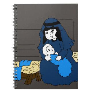 小さいメリーおよびイエス・キリスト ノートブック