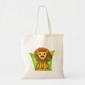 小さいライオン トートバッグ