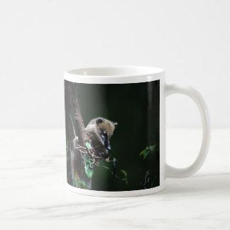 小さい与太者のcoati - lemur コーヒーマグカップ