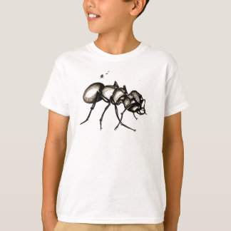 「小さい世界」の戦士の蟻はEcosmartのTシャツをからかいます Tシャツ