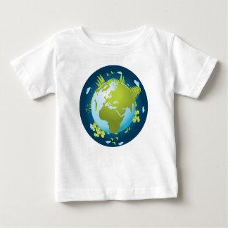 小さい世界 ベビーTシャツ