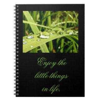 小さい事のノートを楽しんで下さい ノートブック