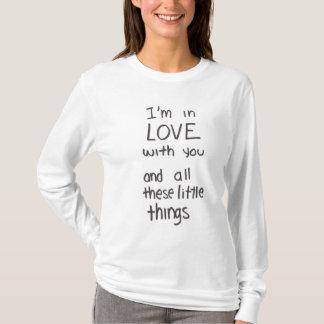 小さい事の叙情詩のワイシャツ Tシャツ