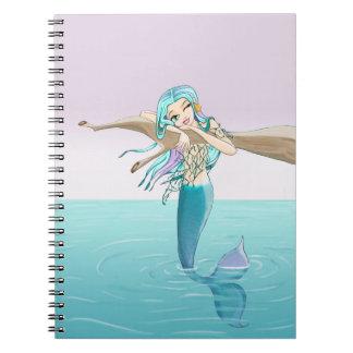 小さい人魚のノート ノートブック
