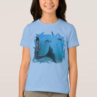 小さい人魚のTシャツ Tシャツ