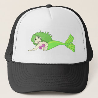 小さい人魚 キャップ