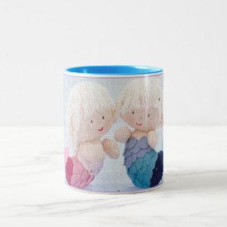 小さい人魚 ツートーンマグカップ