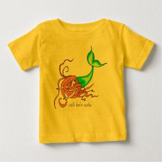 小さい人魚 ベビーTシャツ