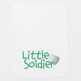 小さい兵士 ベビー ブランケット
