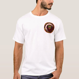小さい円のJujitsuのロゴ1 Tシャツ