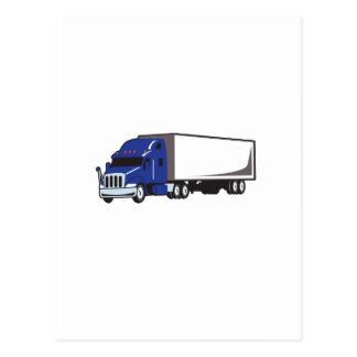 小さい半トラック ポストカード