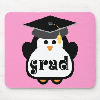 小さい卒業生のペンギンの卒業のギフト マウスパッド