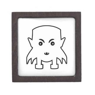 小さい吸血鬼の漫画の絵 ギフトボックス