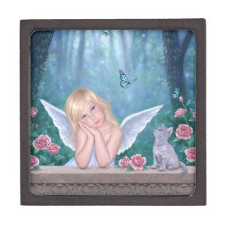 小さい奇跡の天使の子ネコの装身具の記念品 ギフトボックス