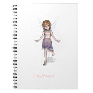 小さい妖精の女の子 ノートブック