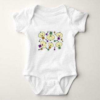 小さい幼児のベビーパターン ベビーボディスーツ