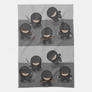 小さい忍者の台所タオル キッチンタオル