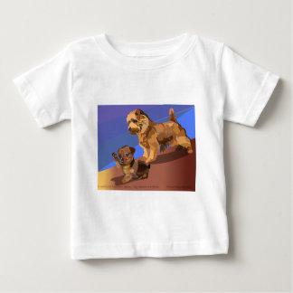 小さい恐怖 ベビーTシャツ