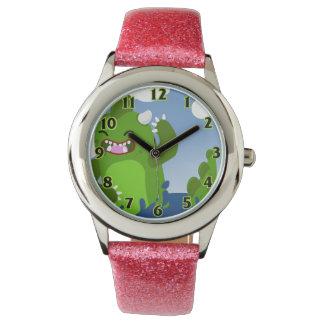 小さい恐竜の腕時計 腕時計