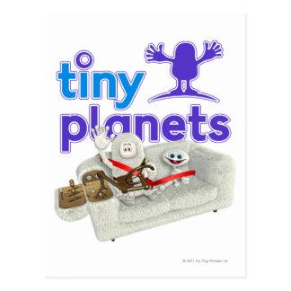 小さい惑星のソファーのサファリ ポストカード