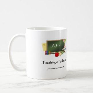 小さい教授マグ コーヒーマグカップ