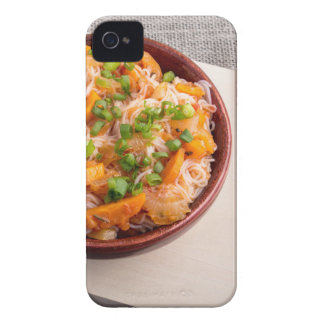 小さい木ボールの米ヌードルのアジア皿 Case-Mate iPhone 4 ケース