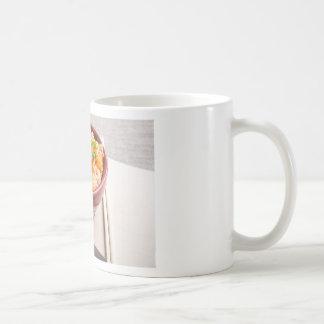 小さい木ボールの米ヌードルのアジア食糧 コーヒーマグカップ