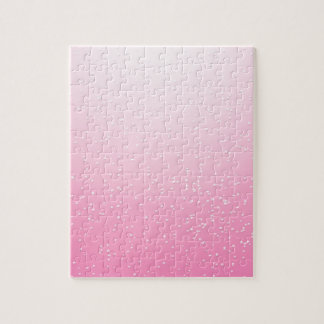 小さい泡背景の芸術のピンクのシャンペン ジグソーパズル